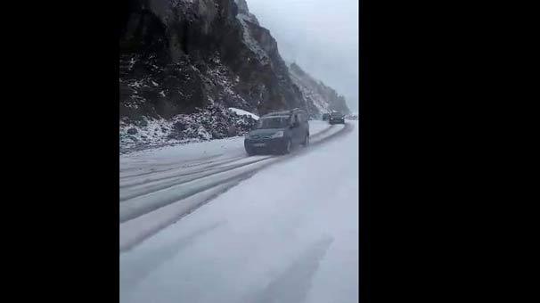 Doğu Karadeniz'de kar sürprizi