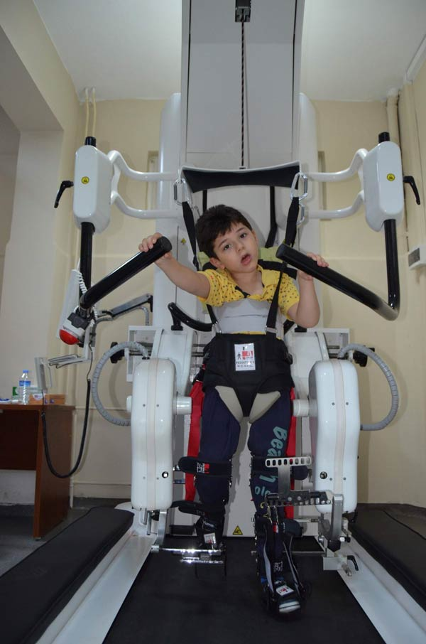 Trabzon'da hastalara robot umudu
