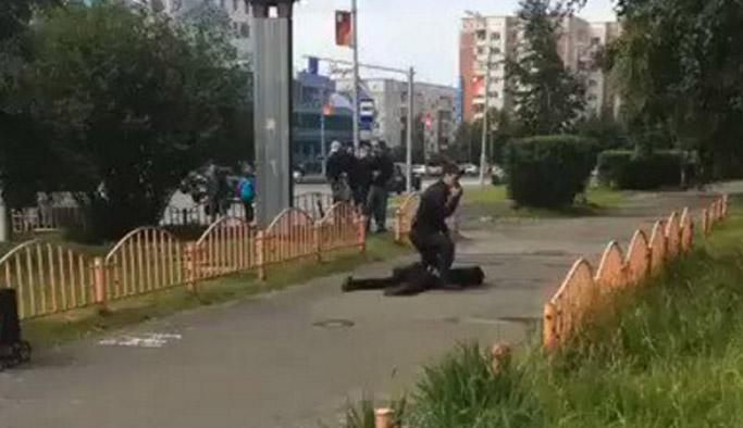 Rusya'da bıçaklı saldırı!