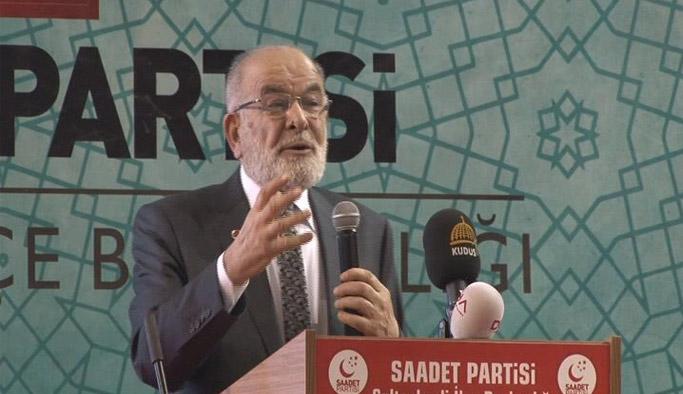 Saadet Partisi'nden hükümete tepki: Bizi Kandil ile yan yana getiriyorlar
