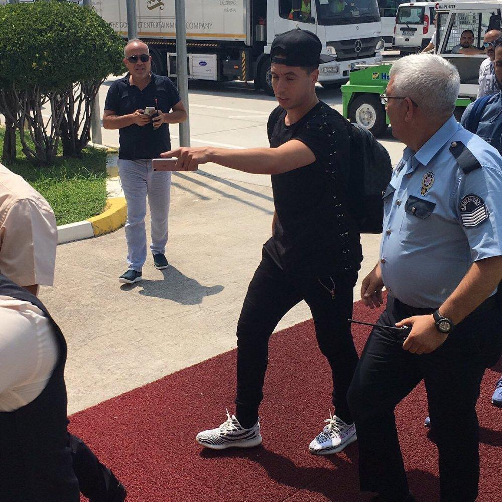 Yıldız futbolcu Türkiye'de