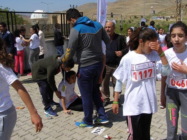 Çocuklar şehit kaymakam Safitürk anısına koştular 4