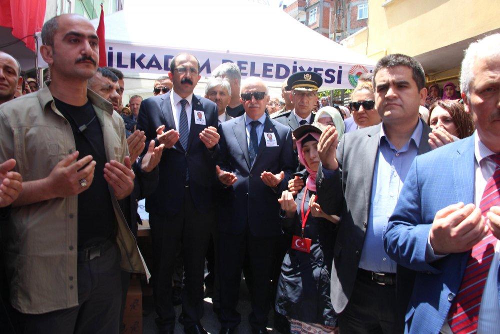 Trabzon'dan mezun olan şehit Babaocağına getirildi