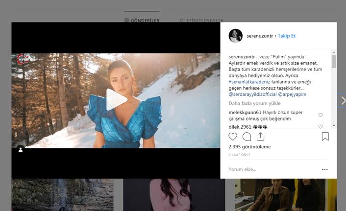Trabzonlu ses sanatçısı Seren Uzun ilk single'ini çıkardı!
