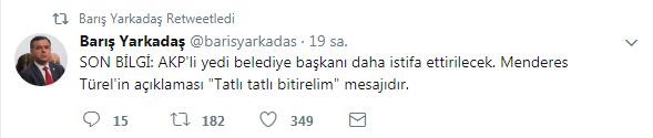 İstifaları bilen vekilden Trabzon iddiası