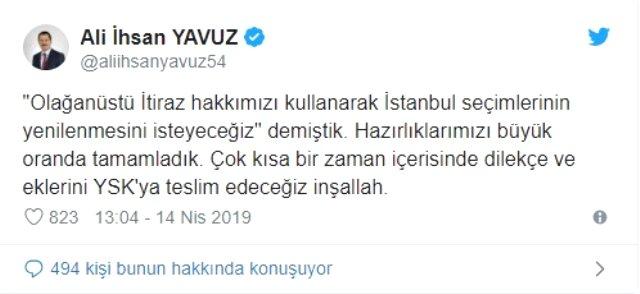 AK Parti İstanbul için hazırlığını tamamladı