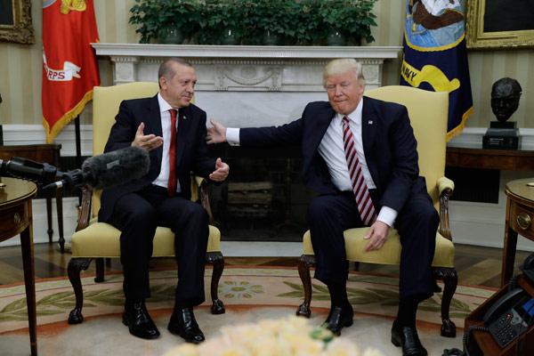Erdoğan ve Trump'tan ortak açıklama
