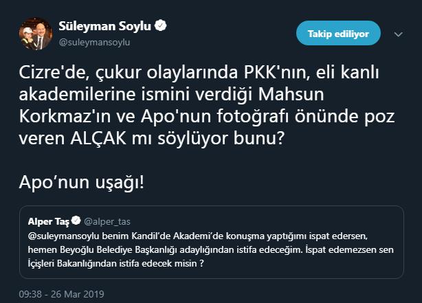 Süleyman Soylu'dan CHP'li adaya çok sert sözler: APO'nun uşağı