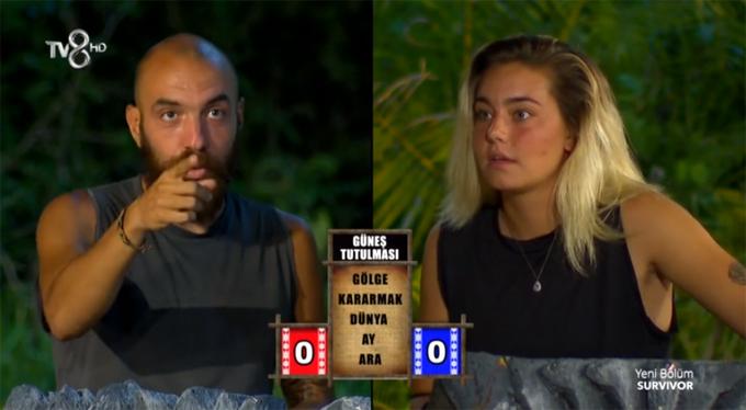 Survivor Ünlüler-Gönüllüler 21 Mayıs Anlat Bakalım oyununu kim kazandı?