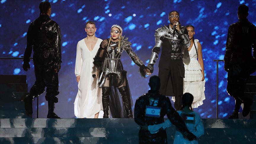 İsrail'deki Eurovision finaline Filistin damgası