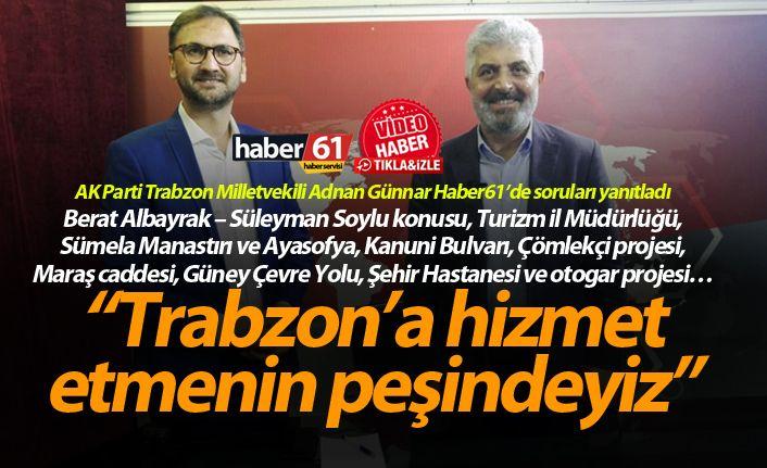 Trabzon için planlanan Güney Çevre Yolunun güzergahı belli oldu