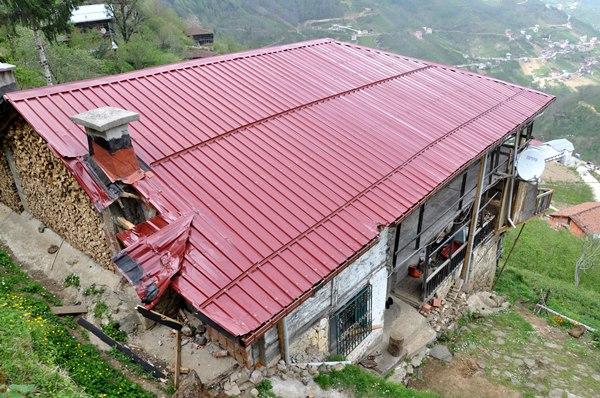 Trabzon'da fırtına ölüme neden oldu