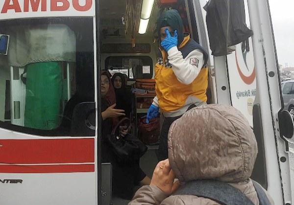 Trabzon Barosu binasına araba çarptı: 3 yaralı