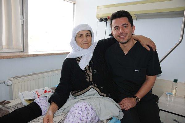 Trabzonlu doktor Hakkarililerin sevgisini kazandı 4