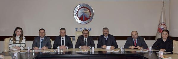 TTSO'da önemli toplantı