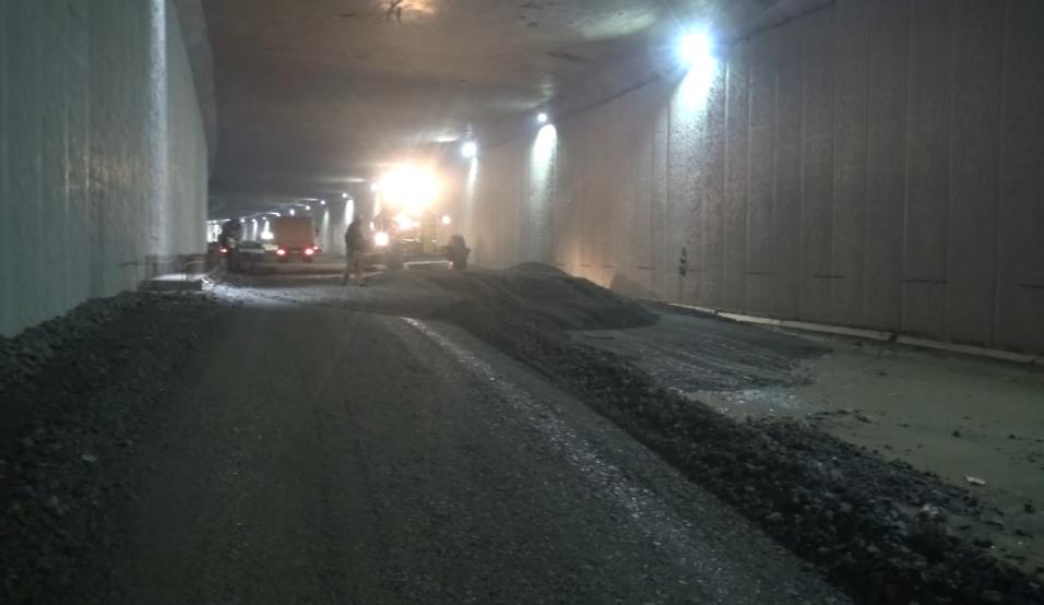 Kaşüstü dal-çık projesinde son durum - Yapımı devam eden tüneli ilk kez Haber61 görüntüledi
