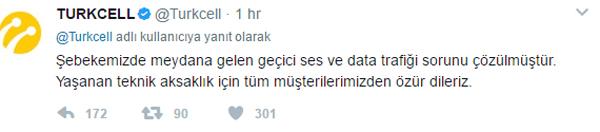 Turkcell'de sıkıntı yaşanıyor: Açıklama geldi