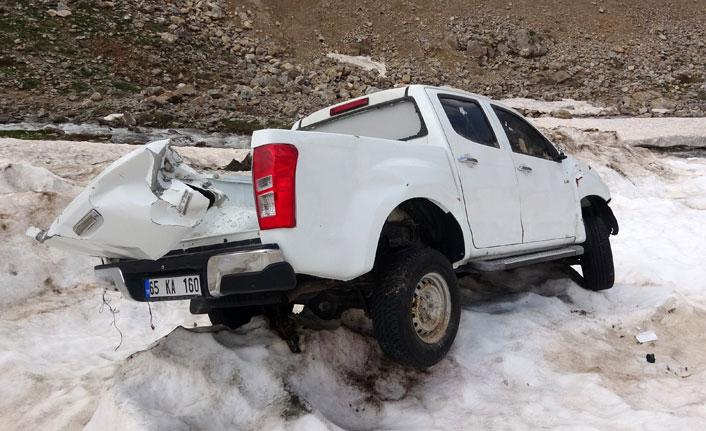 Karlar eridi faciada kaybolan araçlar ortaya çıktı