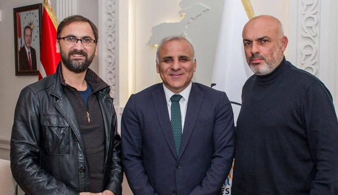 Van ziyareti ve Murat Zorluoğlu