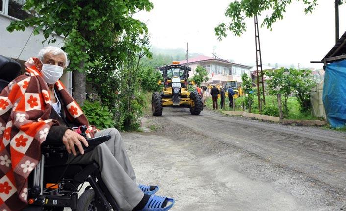 Trabzon'da kanser hastası vatandaşın sorunu böyle çözüldü