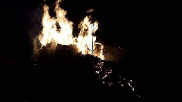 Yangın'da yaşlı kadın hayatını kaybetti!
