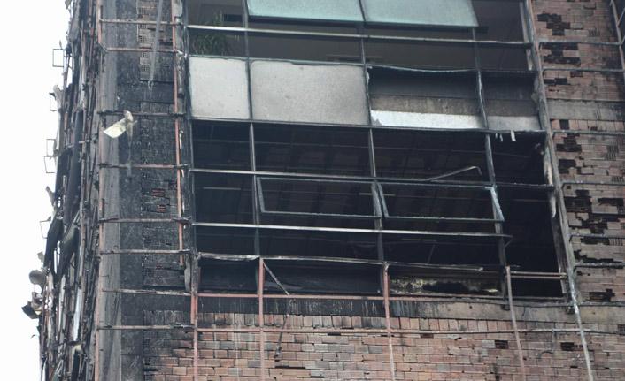 Üniversitedeki yangının ardından soruşturma başlatıldı