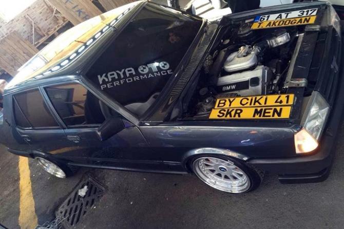 Şahin'e BMW motoru taktırınca