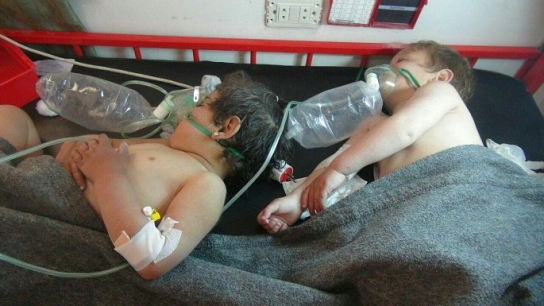 Suriye İdlib'de kimyasal katliam!