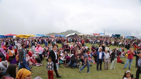 Trabzon Kurtdüzü yayla Festivalinde buluştu