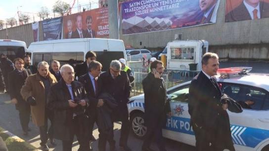 Şenol Güneş Trabzon'da