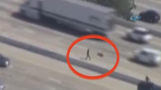 Polisten kaçarken bakın ne oldu?