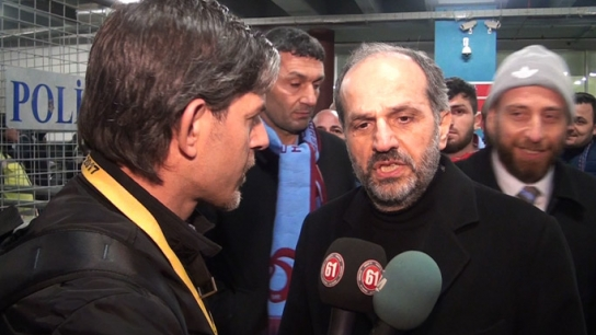 """Nuri Albayrak: """"Trabzonspor iyi yolda"""""""
