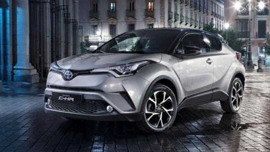 Toyota C-HR Trabzon'da tanıtıldı
